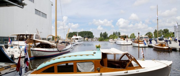"""Devea"" is present at the Feadship Heritage Fleet"