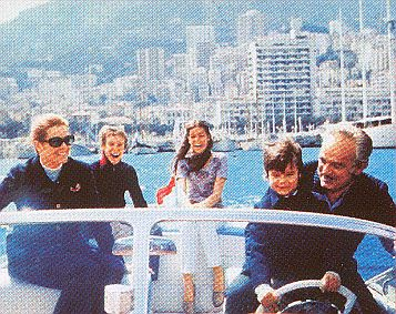 Tritone Prince Rainier & Grace Kelly