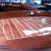 classic mahogany launch boat24
