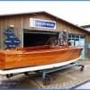 classic mahogany launch boat5