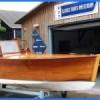 classic mahogany launch boat6